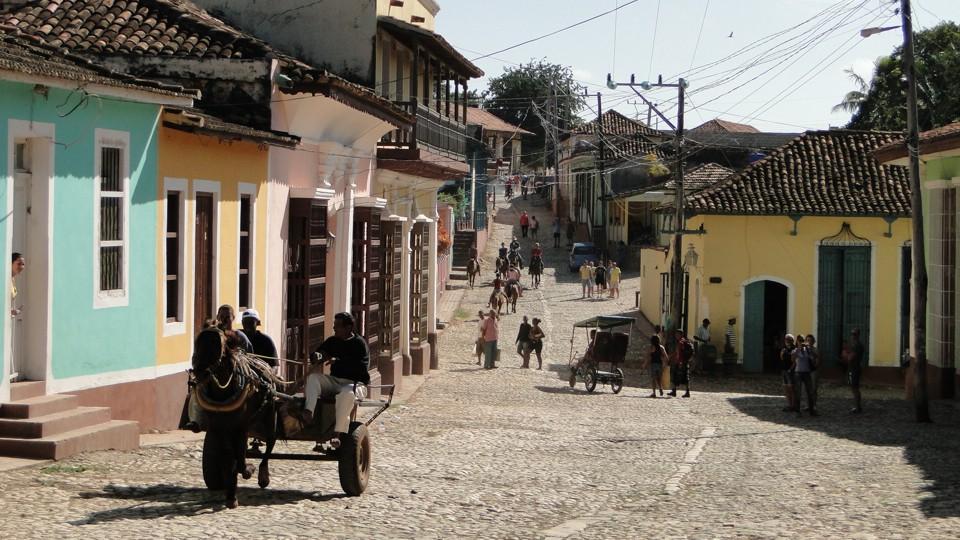 Trinidadi utcakép