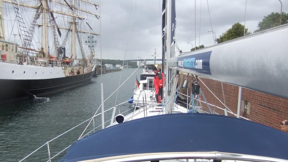 Bezsilipelés a Kieli-csatornába