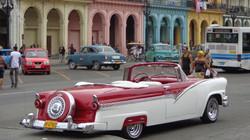Havanna főutcája