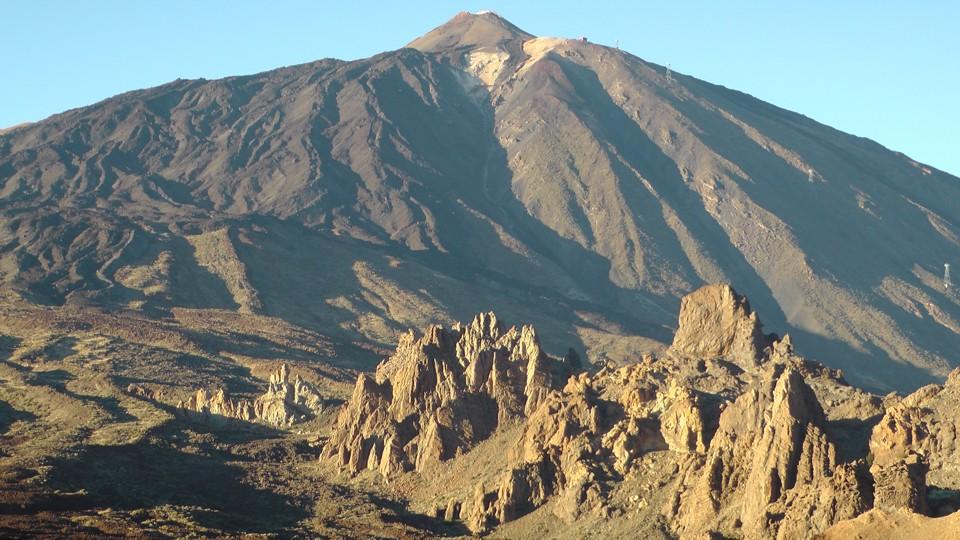 Tenerife, a Teide csúcsa