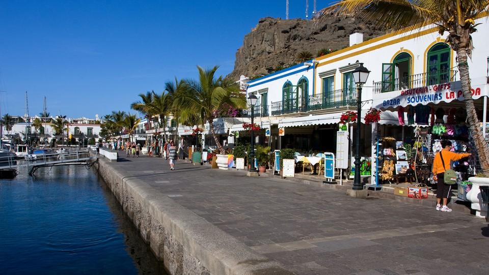 Gran Canaria, Puerto de Mogan
