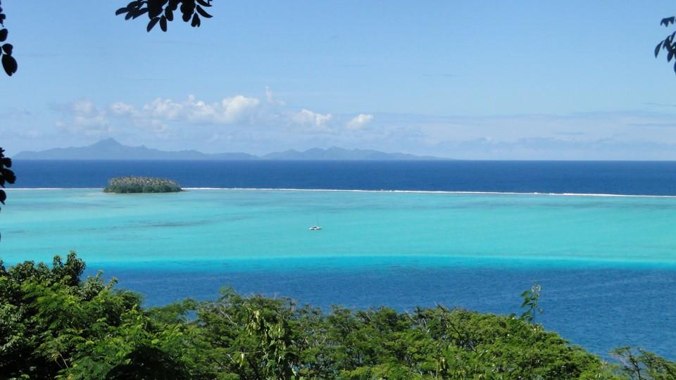 Kilátás Raiatearól