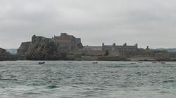 Jersey, az Erzsébet-erőd dagálykor