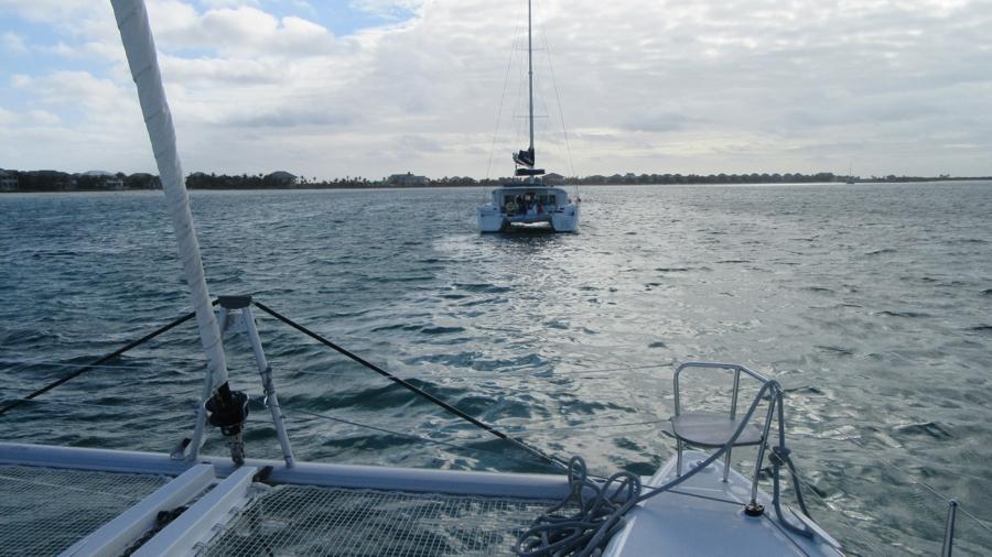 Indulás Marsh Harbourból