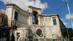 Cagliari, a vár bejárata