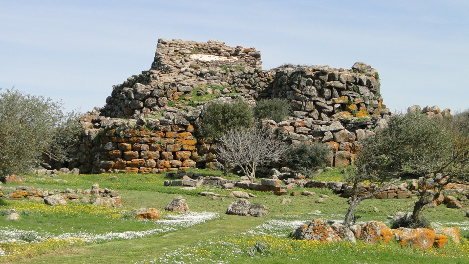Dél-Szardinia, bronzkori nurage