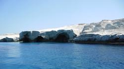 Milos északi partja