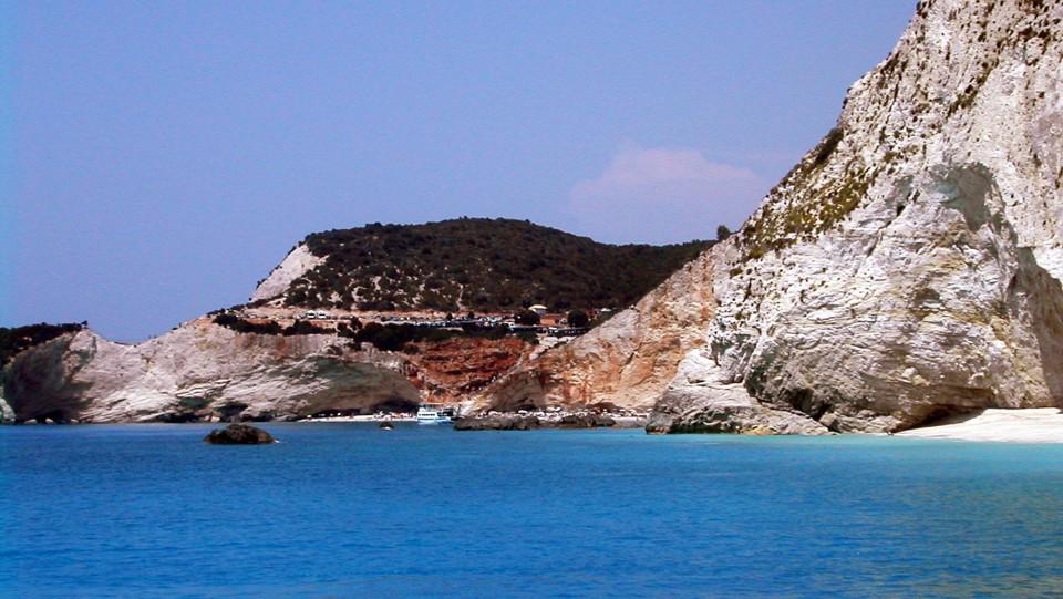 Lefkas, a sziget nyugati oldala