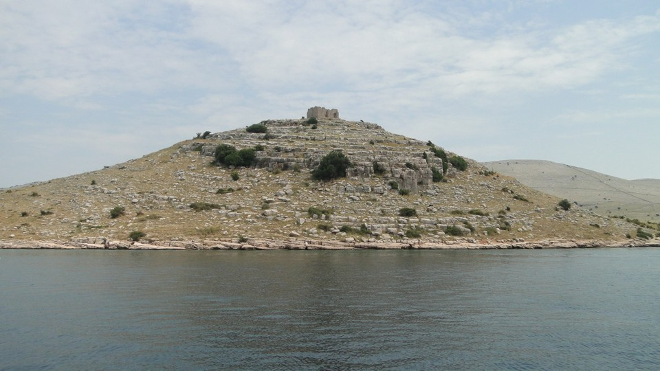 Kornatok, VI. sz-i bizánci őrtorony