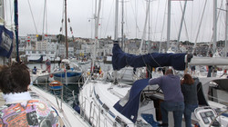 Guernsey, bebocsátásra várva