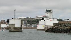 Jersey, a kikötő bejárata