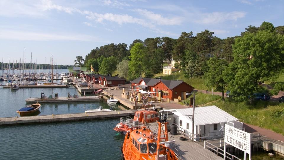 Mariehamn, marina