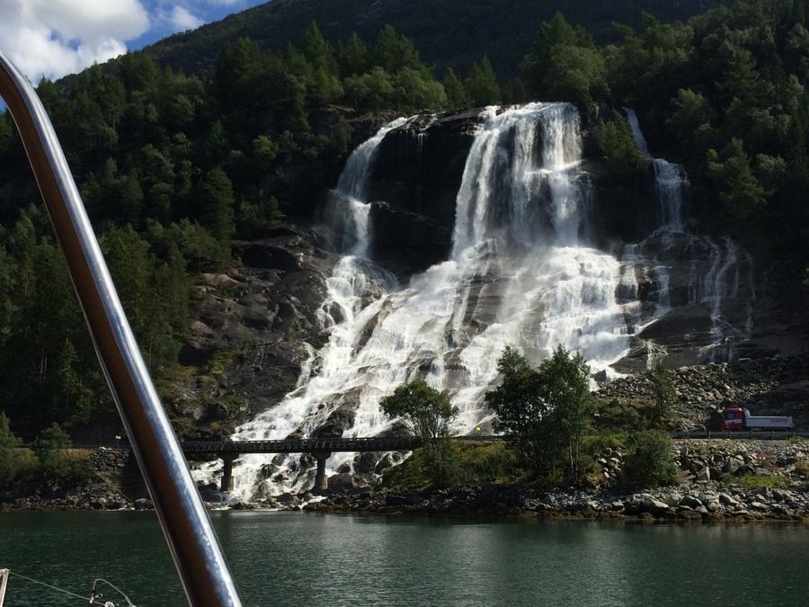 Fureberg-vízesés
