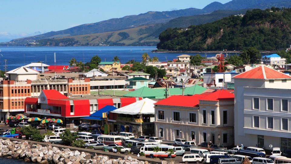 Dominika fővárosa, Roseau