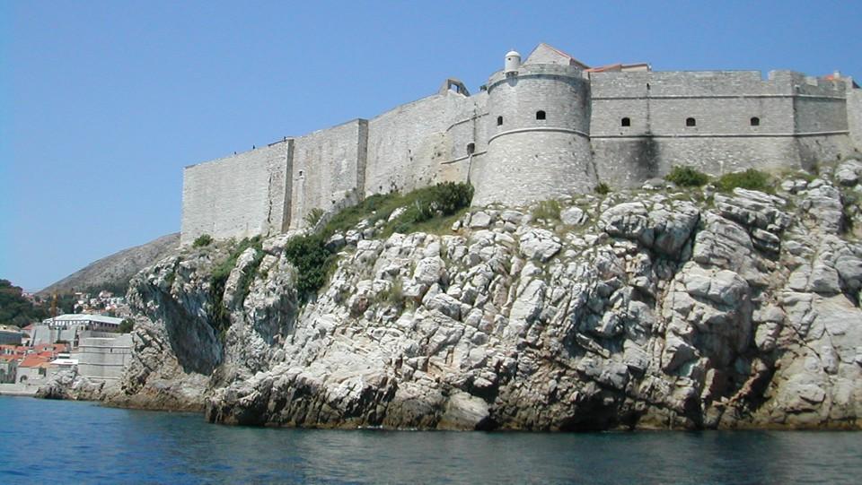 Dubrovnik, a külső városfal