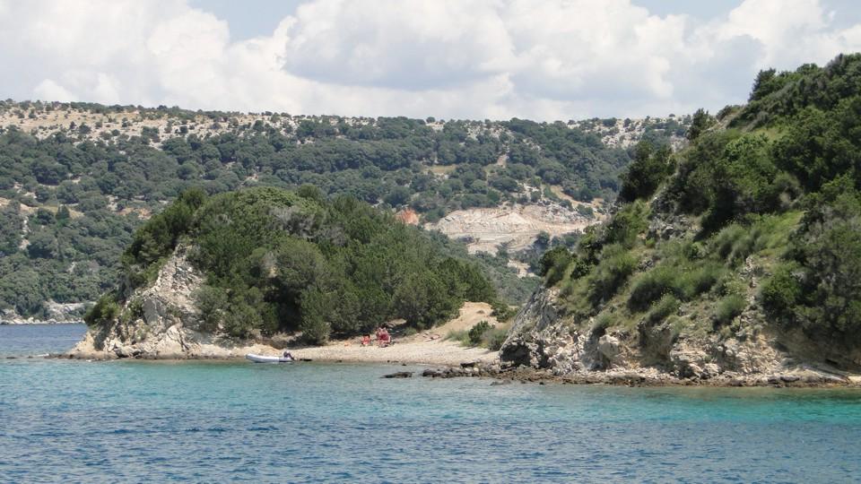 Rab-sziget, Supetarska Draga