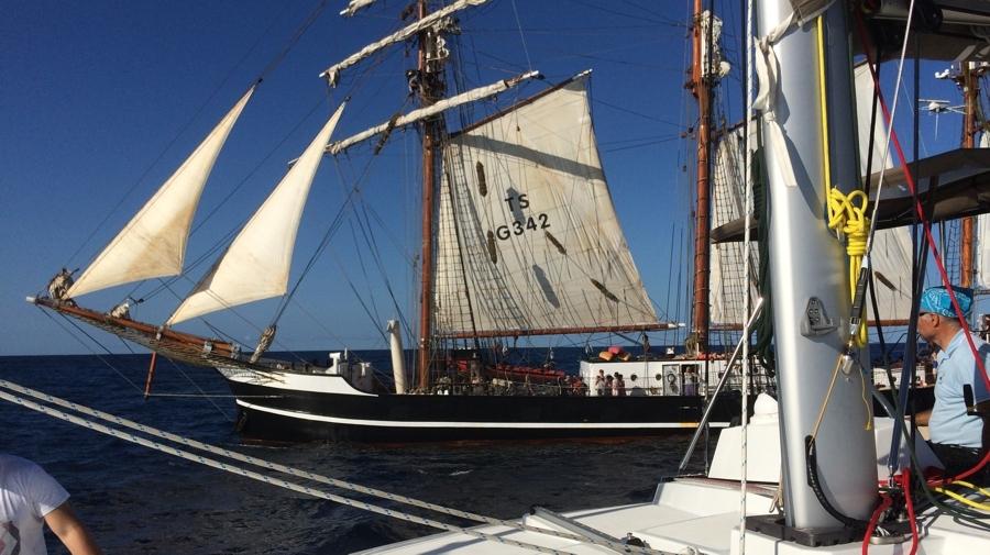 Találkozás a S/Y Thor Heyerdahl-lal