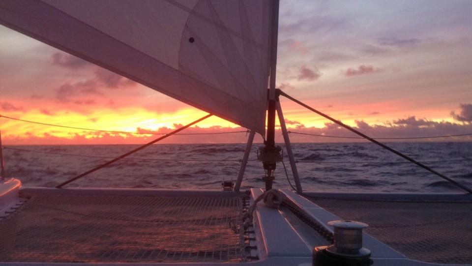 Óceáni naplemente