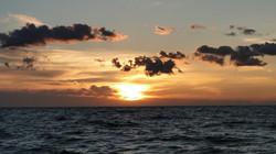 Naplemente az Atlanti-óceánon