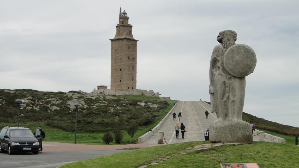 La Corunha, a Herkules-torony