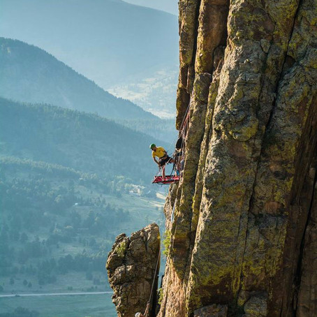 Cliff Camping with Aaron Millar