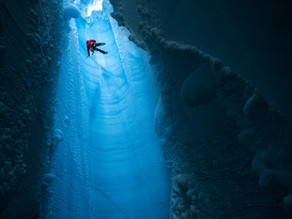 Descent into the Unknown: Inside the Greenland Ice Cap with Red Bull Photographer Christian Pondella