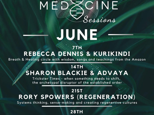 PRESS RELEASE: MEDICINE FESTIVAL OFFERS FREE, LIVE, ONLINE SESSIONS: MUSIC, CLASSES, TALKS & FILM