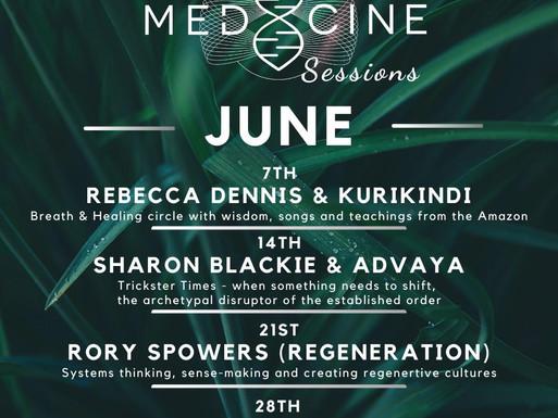 PRESS RELEASE: MEDICINE FESTIVAL OFFERS FREE, LIVE, ONLINE SESSIONS: MUSIC, CLASSES, TALKS & FILM