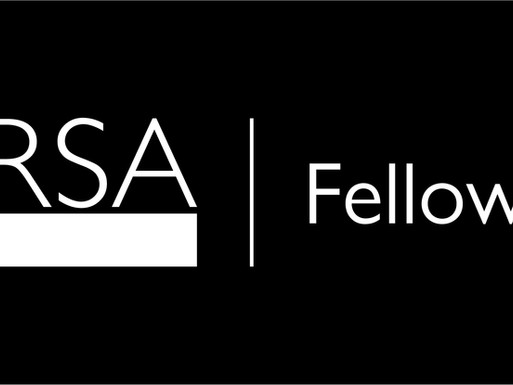 Newsflash! I've joined the prestigious Royal Society for Arts, Manufactures and Commerce (RSA)!