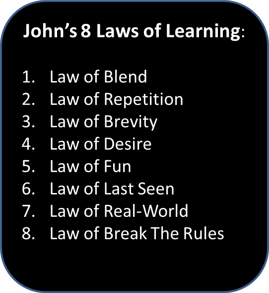 LAW #8 – The Law of Break The Rules!