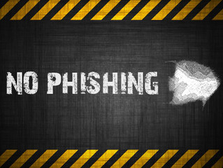 The bad guys are phishing, and we are biting
