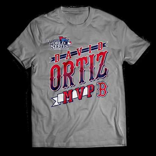 Ortiz World Series MVp T-Shirt