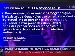 Le pacte démographique de François Bayrou