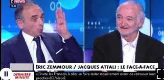 Le patriote Zemmour face au mondialiste Attali