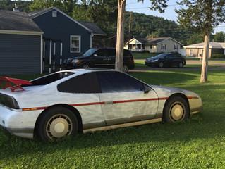 1987 Fiero with V8 swap.
