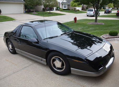 1985 Black Fiero GT