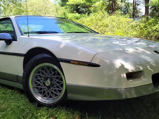 1986 Pontiac Fiero GT  11,600 miles