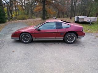 1987 Fiero GT fastback