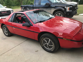 Very Clean 1988 Fiero SE