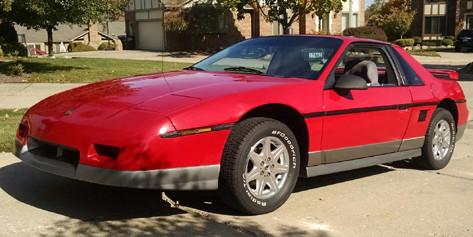 85 Fiero GT - by Original Owner