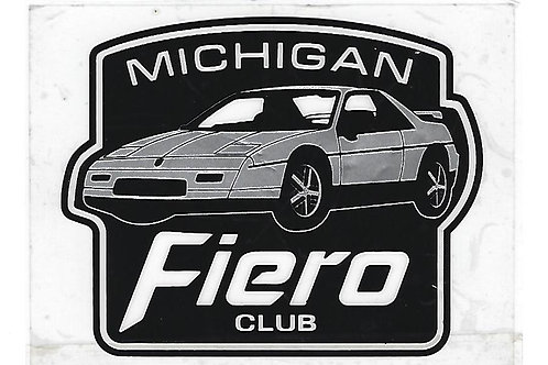 Michigan Fiero Club (Non US) 1 Yr Membership -Canada/Outside US