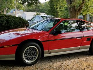 1986 Fiero GT, 16k, Excellent condition