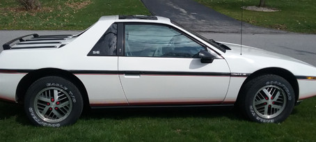 1985 Fiero SE (V-6)