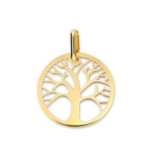 Pendentif arbre de vie en or jaune