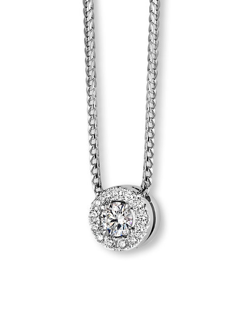 Collier Juju or blanc et diamants BLOCH