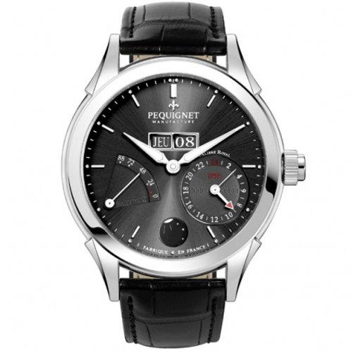 Montre Pequignet Manufacture Rue Royale GMT 9010943FCN