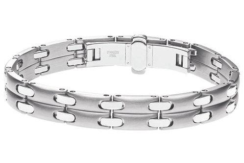 Bracelet Homme Pequignet Moorea Acier Double 0580003