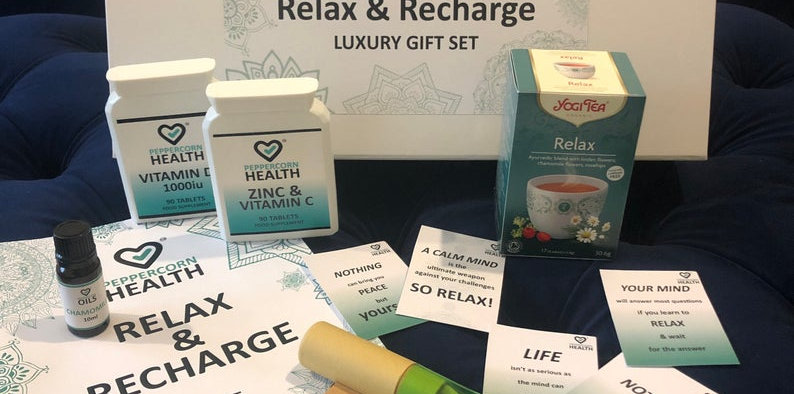 Relax and Recharge luxury gift set