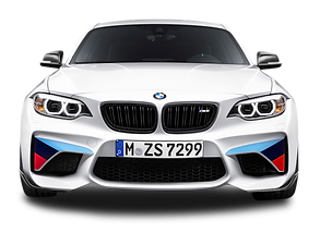 white-bmw-m2-coupe-front-view-car-png-im