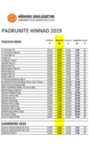 Padrunite hinnad 2019.png